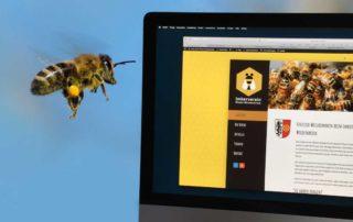 Honigbiene mag es digital