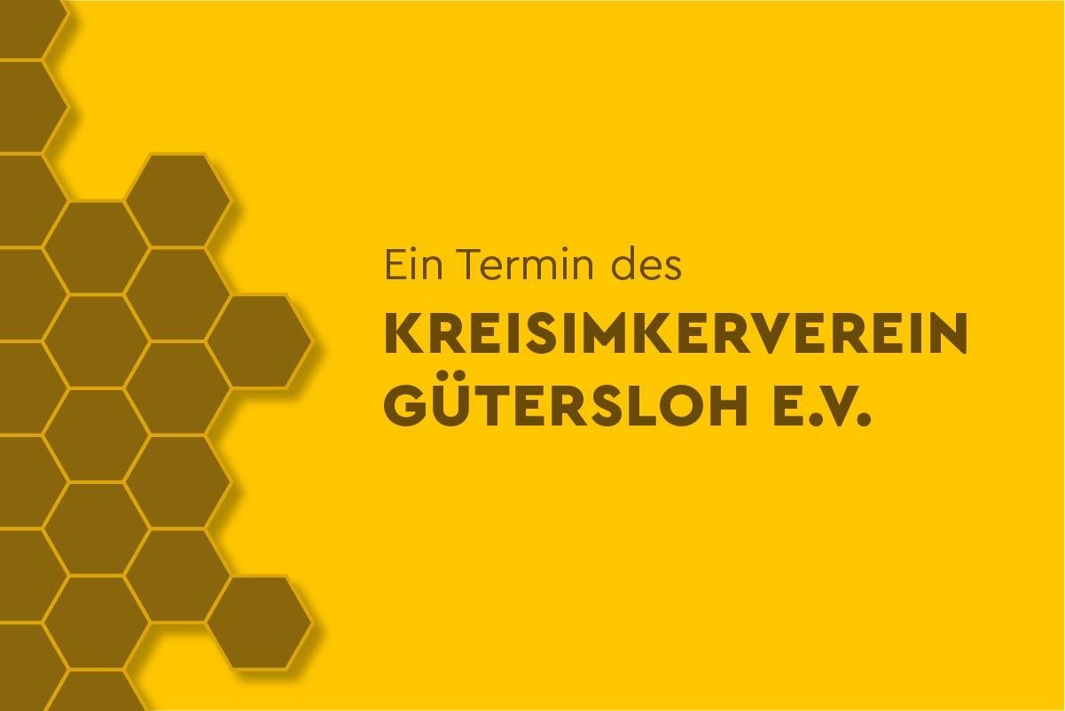 Termin des Kreisimkerverein Gütersloh